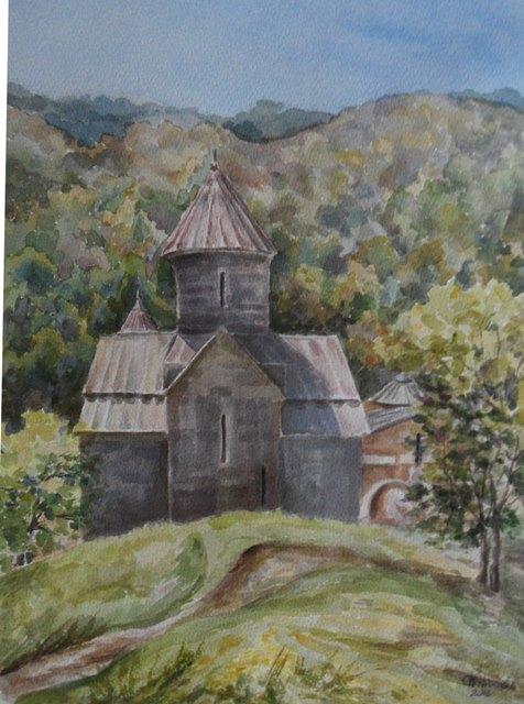 Древний храм Абхазии