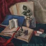 Книги и роза