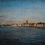 С-Петербург. Закат