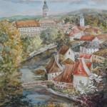 Чешский Крумлов. Осень.