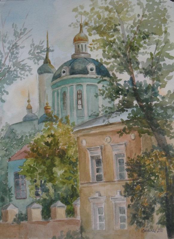 ул.Б.Алексеевская, Храм Мартина исповедника.